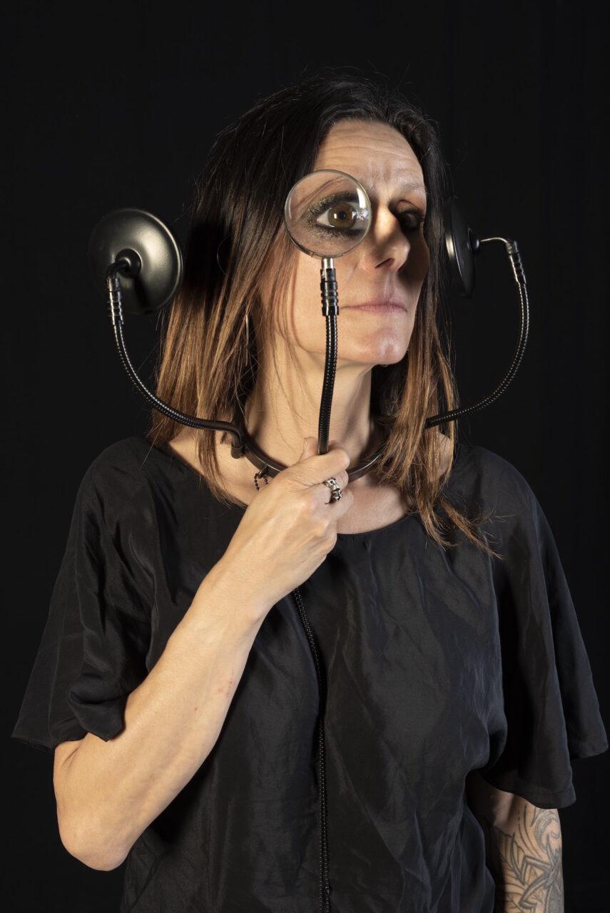 Teresa Milheiro, Desperately Looking for a Wrinkle, portret