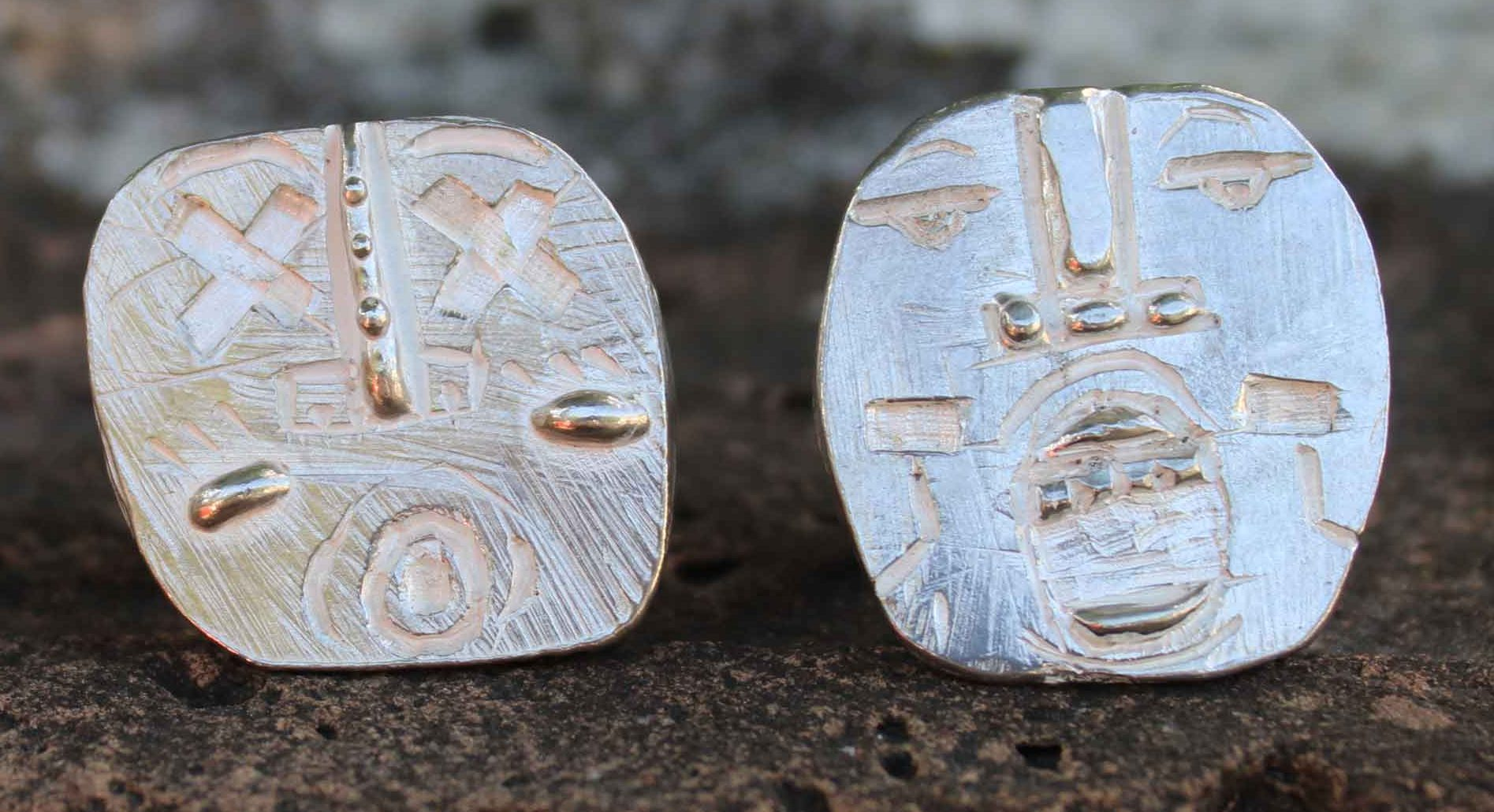 Kalkidan Hoex, New Tribe Ring Ten, ringen, zilver