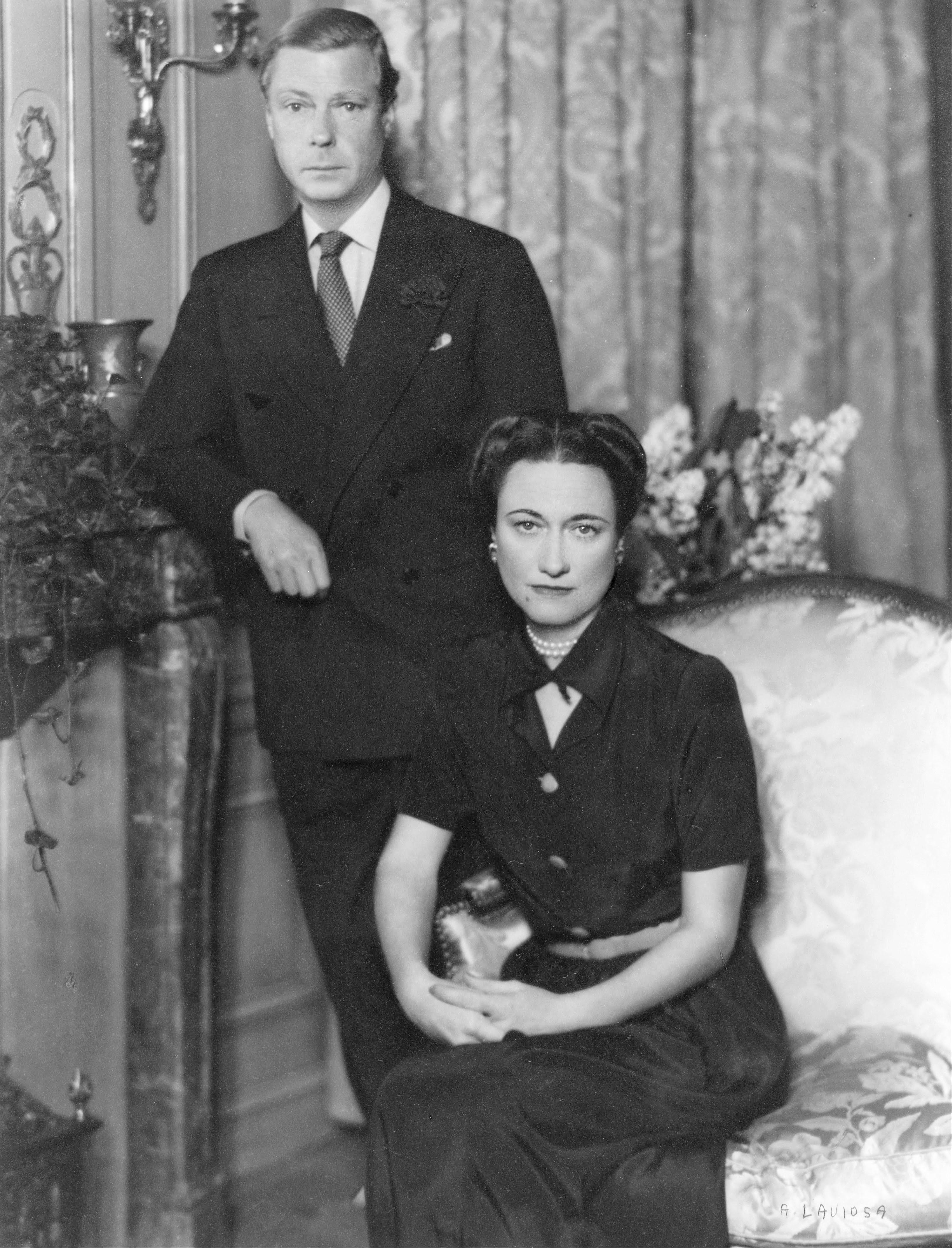 A. Laviosa, The Duke and Duchess of Windsor, circa 1934, portret, Wallis Simpson