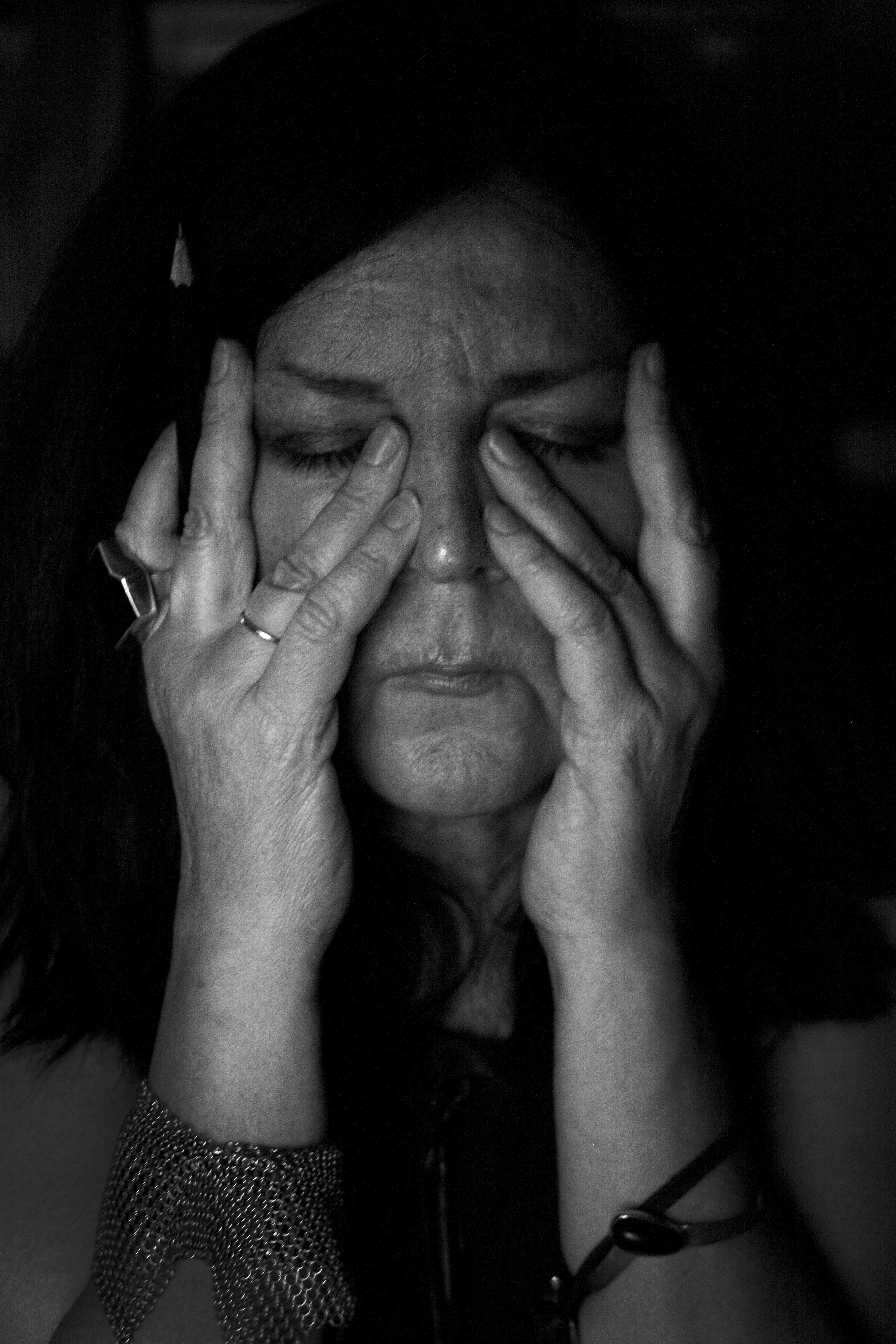 Kadri Mälk, 2014, portret, ring, armband