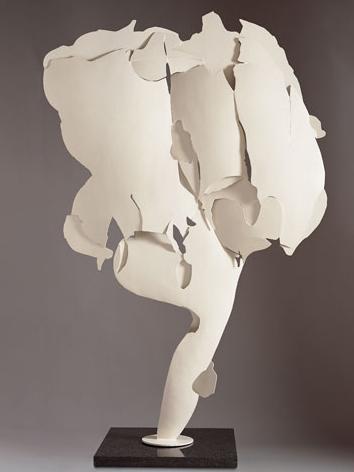 Pietro Consagra, beeldhouwwerk. 1966, beschilderd metaal