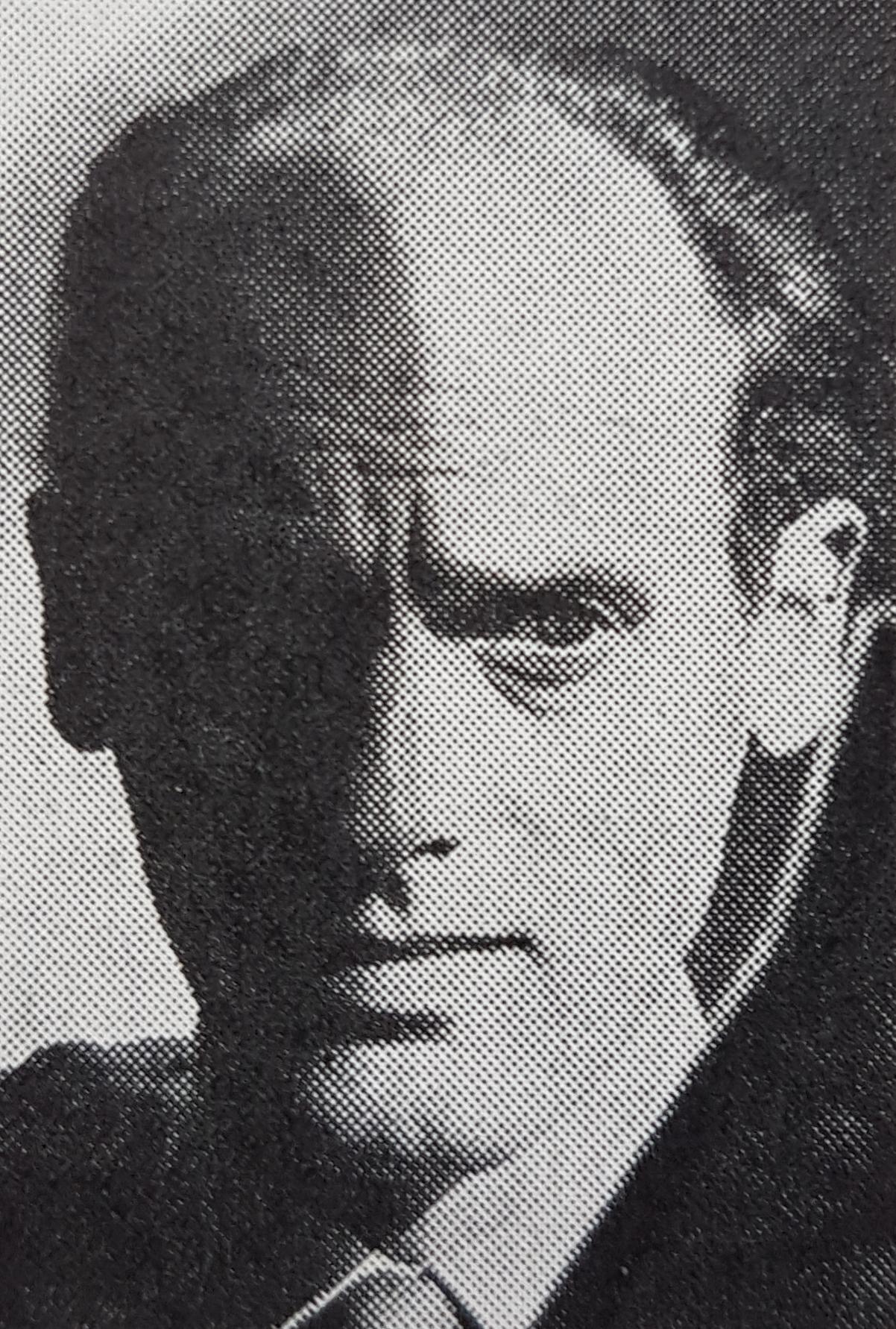 Foto Sigurd Persson, portret