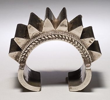 Armband, India, 1900-1999. Collectie World Jewellery Museum, zilver
