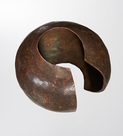 Armband, Congo, 1900-1999. Collectie World Jewellery Museum, koper