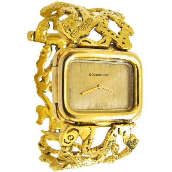 Jean Mahie voor Boucheron, horloge, 1976-1977. Foto Kimberly Klosterman