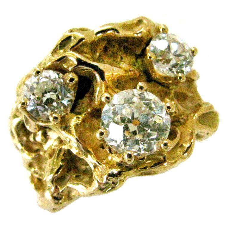 Arthur King, ring, circa 1970. Foto Kimberly Klosterman, diamant, goud