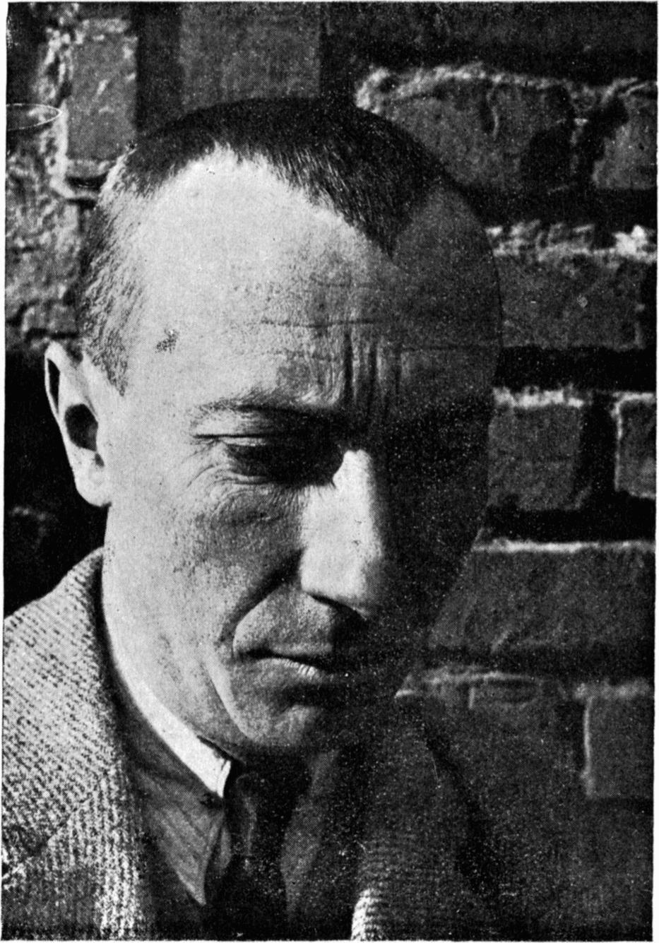 Foto Hans Arp, circa 1925, portret