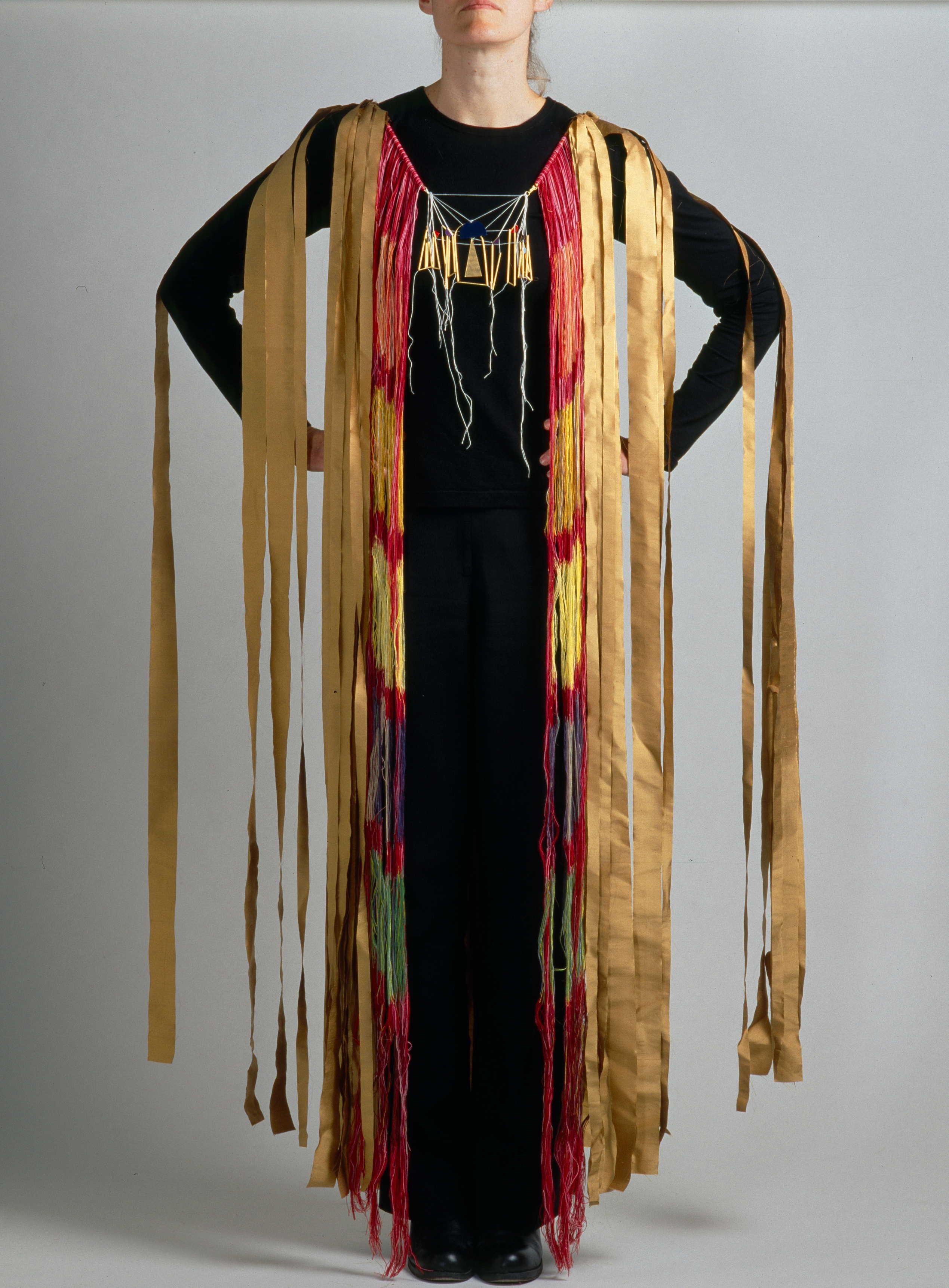Katrine Borup, Bishop's robe - a paraphrase, 2004. Foto Ole Akhøj, textiel
