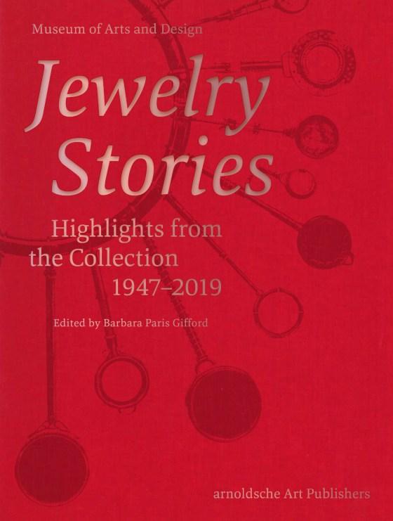Boekomslag Jewelry Stories, 2020. Foto Arnoldsche
