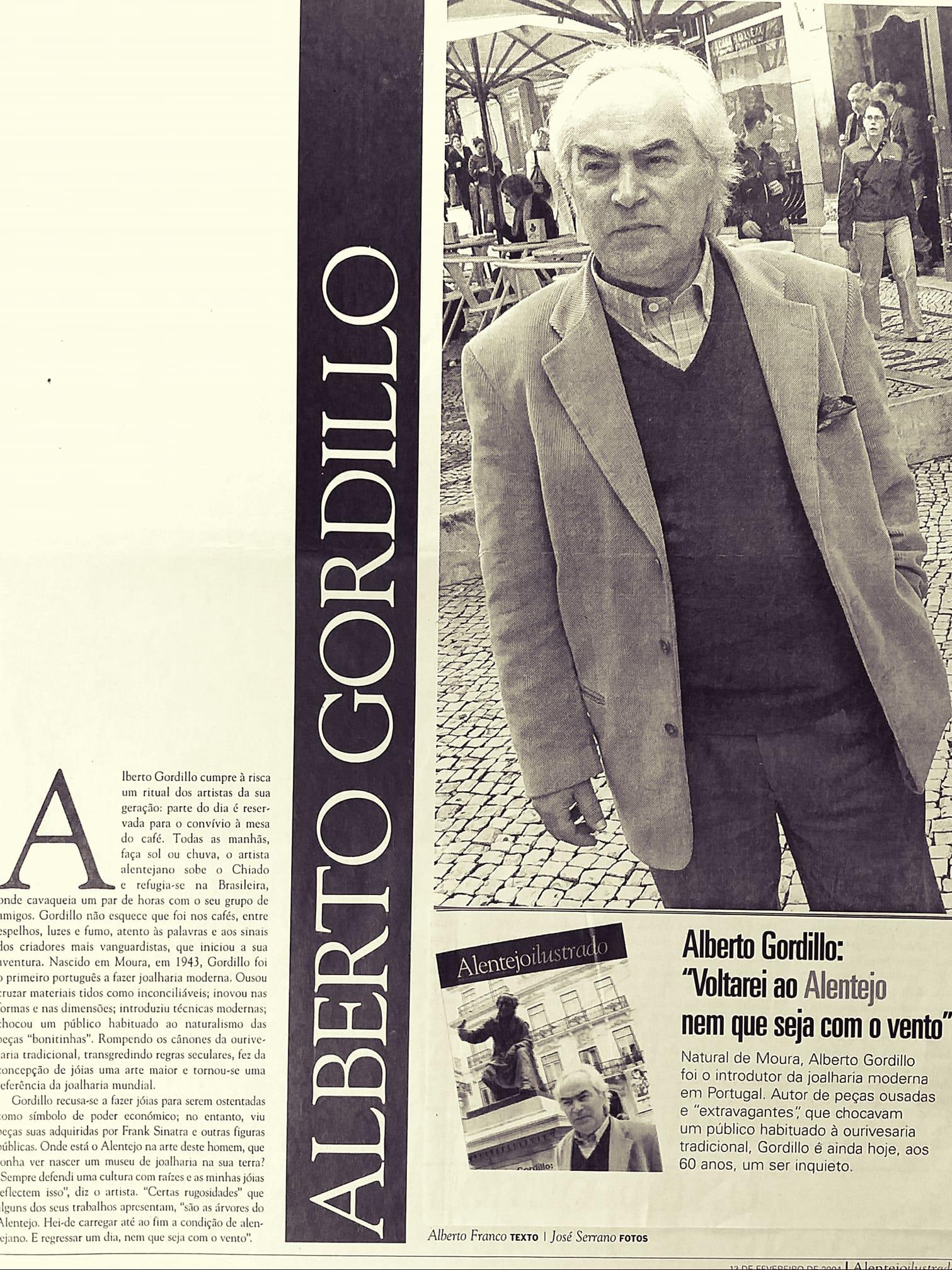 Alberto Gordillo, portret
