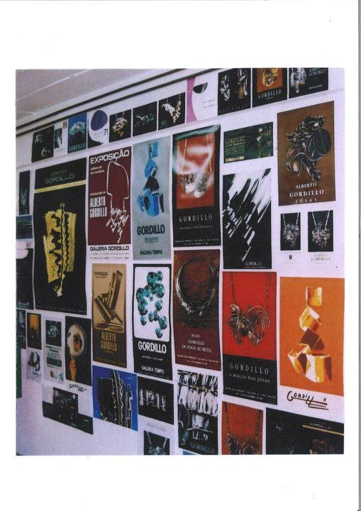 Alberto Gordillo, affiches en catalogi, 1963-2019, papier, tentoonstelling