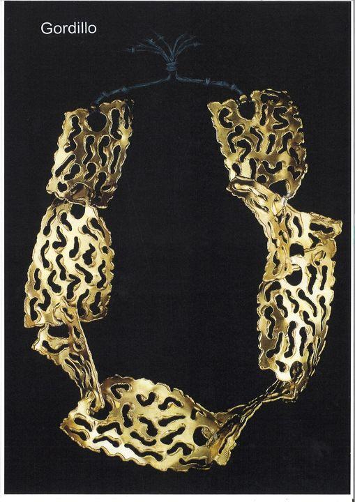 Alberto Gordillo, halssieraad, 1960. Collectie Museu Alberto Gordillo