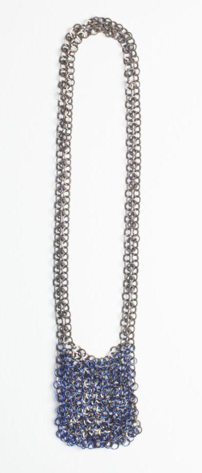 Carlier Makigawa, 891 Necklace, halssieraad, 2019, niobium, monel