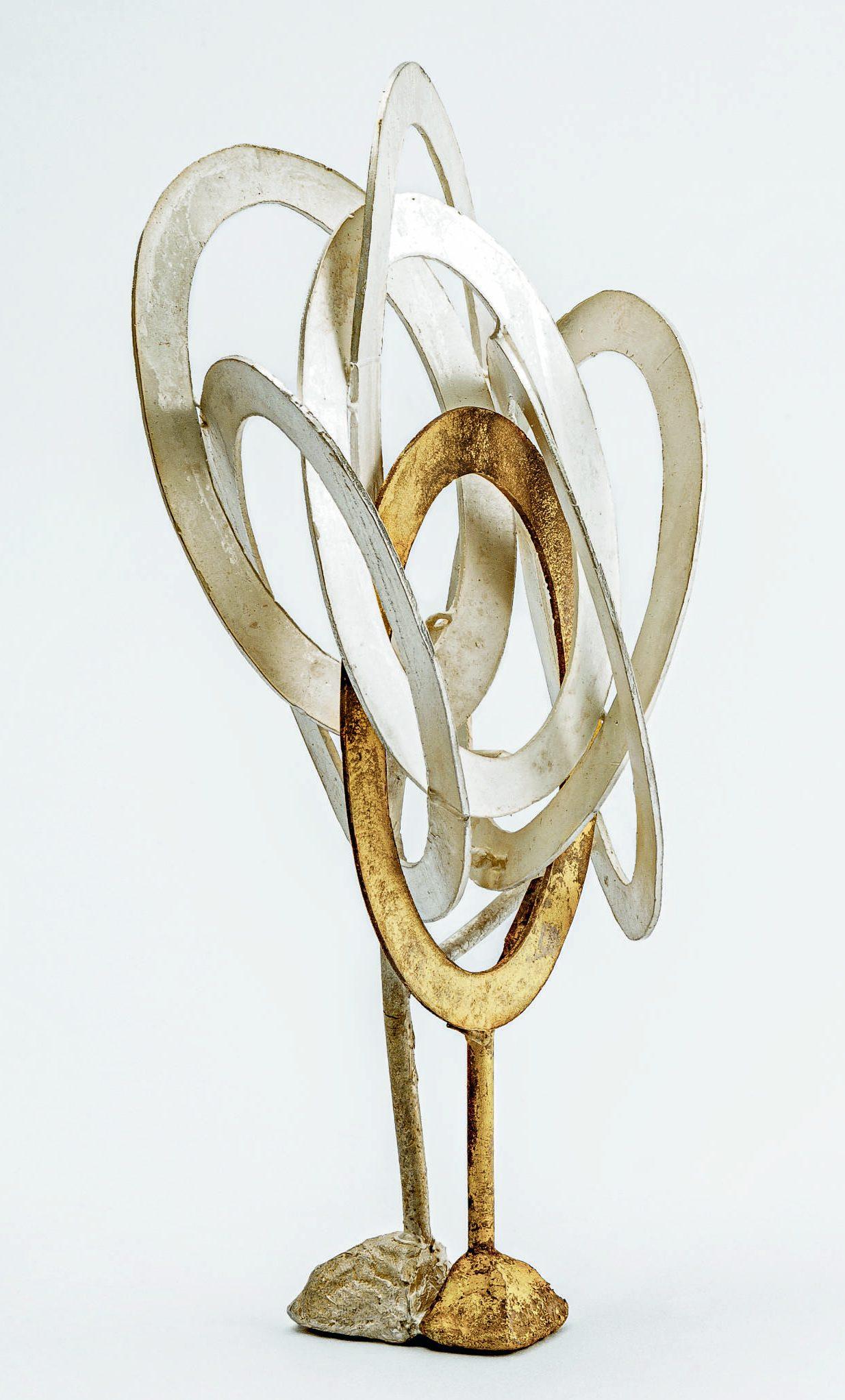Peter Bauhuis, K7, object/halssieraad, 2019. Danner Ehrenpreis 2020. Foto Eva Jünger, zilver, goud