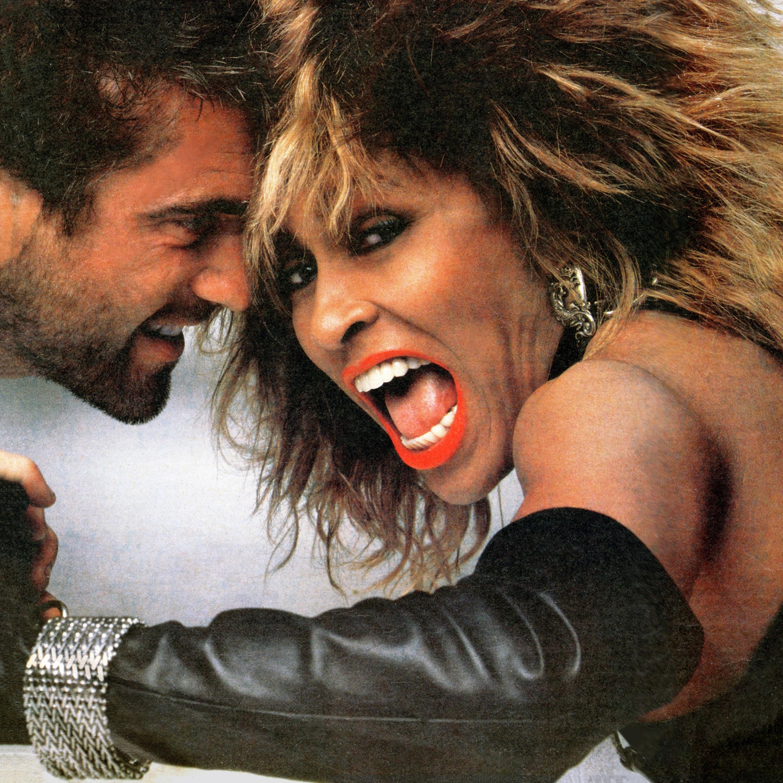 Mel Gibson en Tina Turner met V-mesh armband, 1983, cover Rolling Stone Magazine, 1985, Mad Max