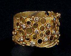 Gerda Flöckinger, #897, ring, goud, diamanten