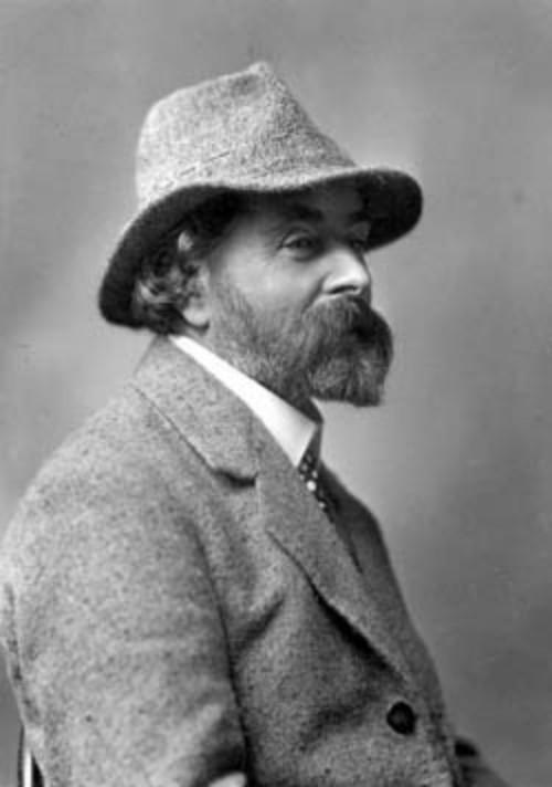 Archibald Knox, circa 1910, portret