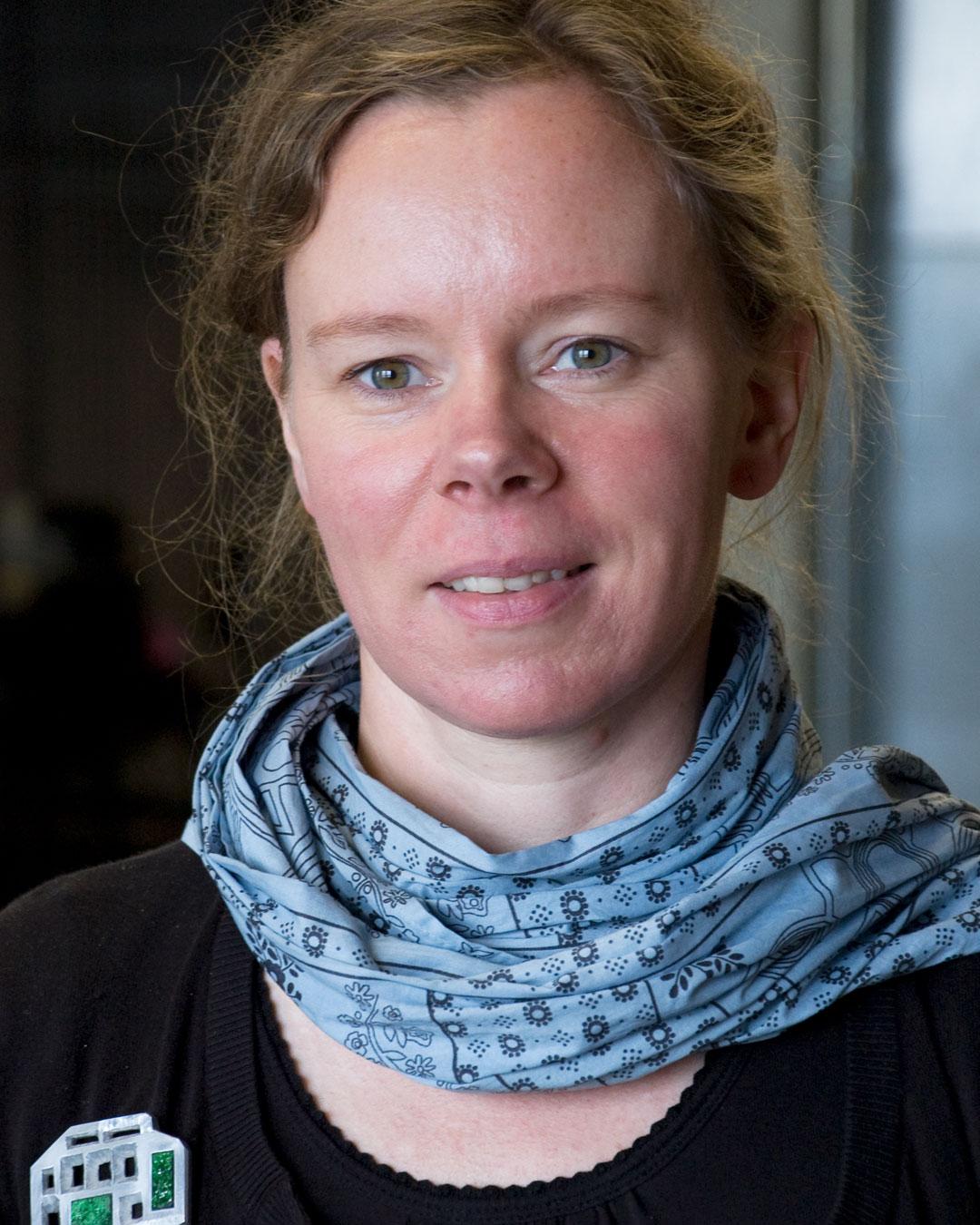 Sybille Richter, 2009. Foto Galerie Marzee, portret