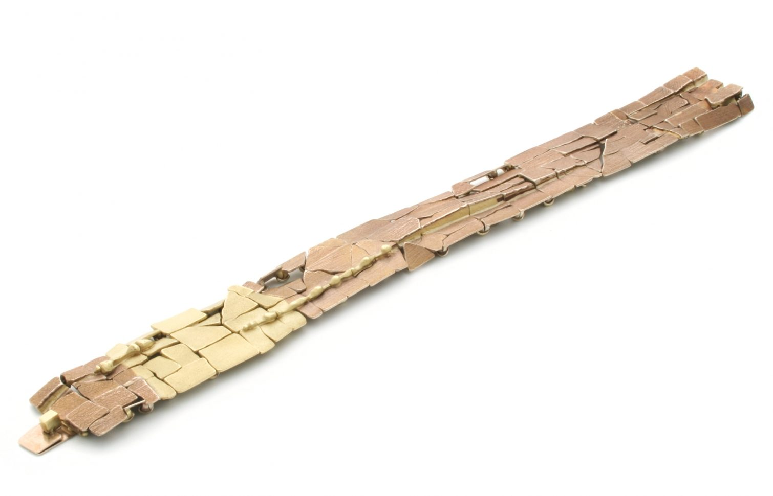 John Iversen, MA, armband, 2016, goud