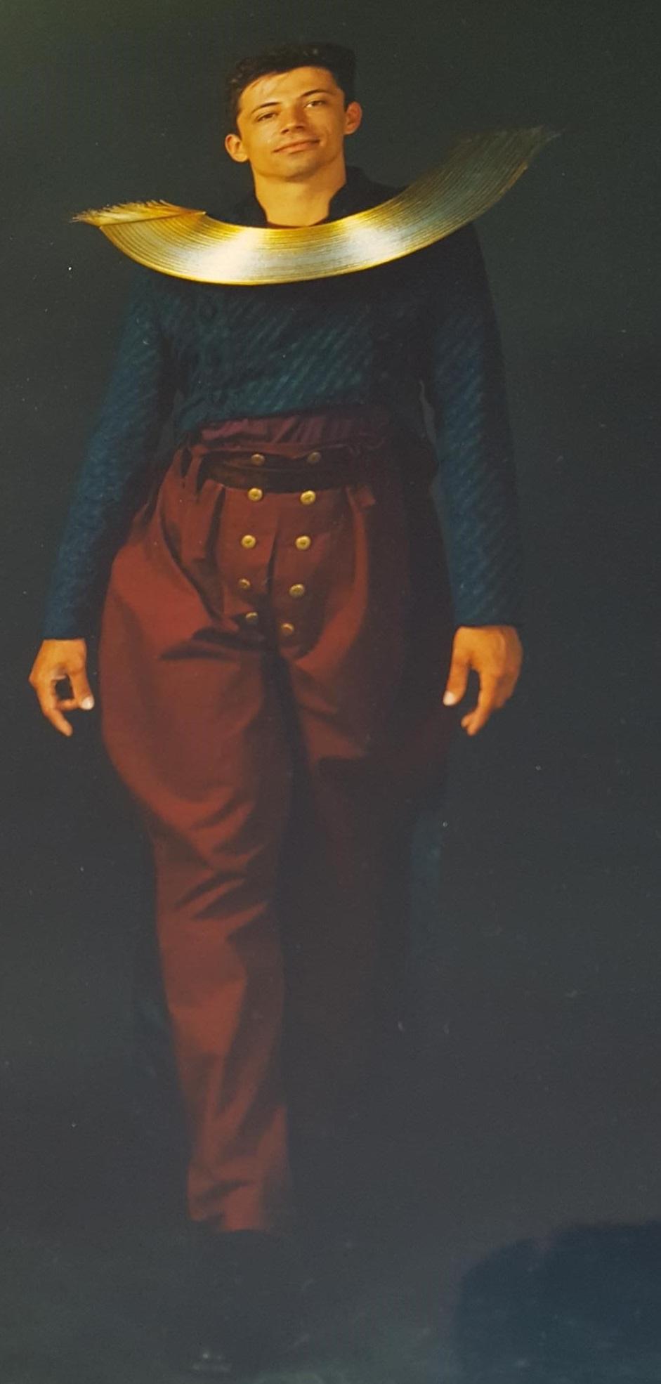 Hiroko Sato Pijanowski, halssieraad. Sieraad en Mode - tien jaar Galerie Beeld & Aambeeld, 1989. Foto Galerie Beeld & Aambeeld