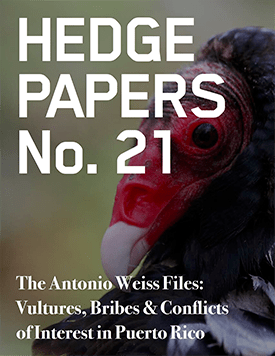 Hedge Paper #21 cover