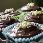 Easy-Peasy Nutella Topped Cupcakes!
