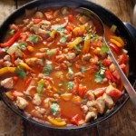 Easy Paprika Pork Fricassee