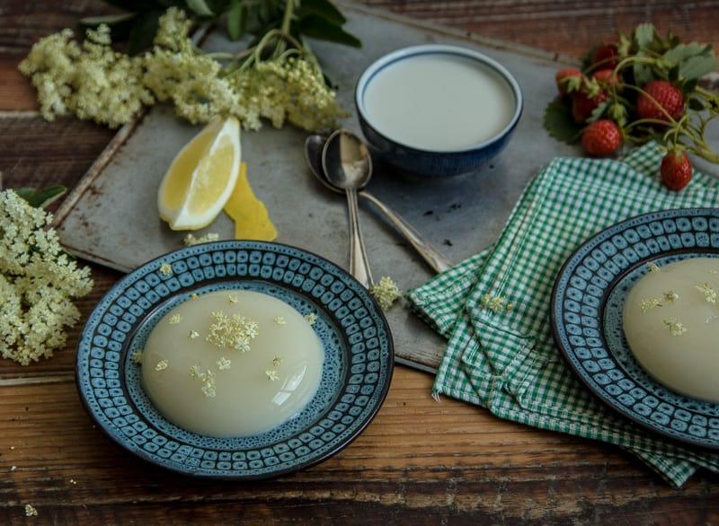 Elderflower Pannacotta (Deliciously Dairy Free!)