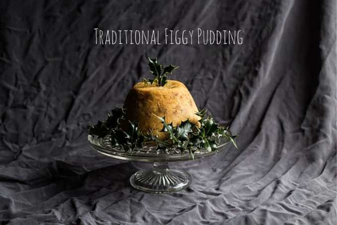 Traditional Figgy Pudding - The Hedgecombers