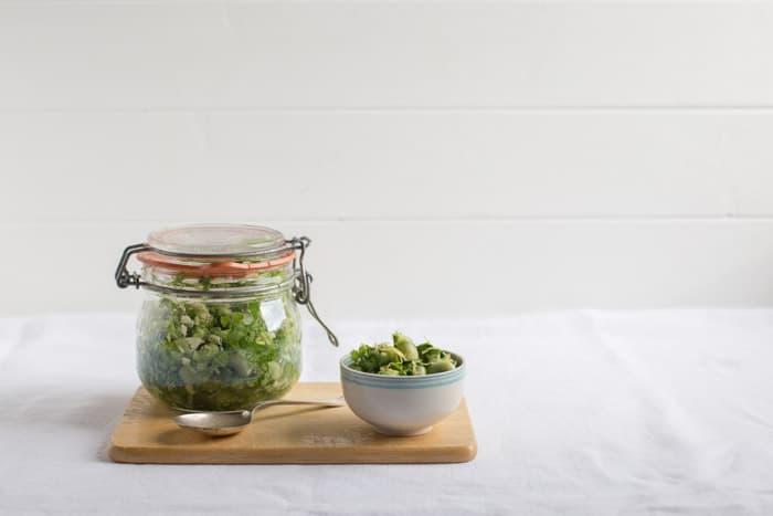 Marinated Broad Beans