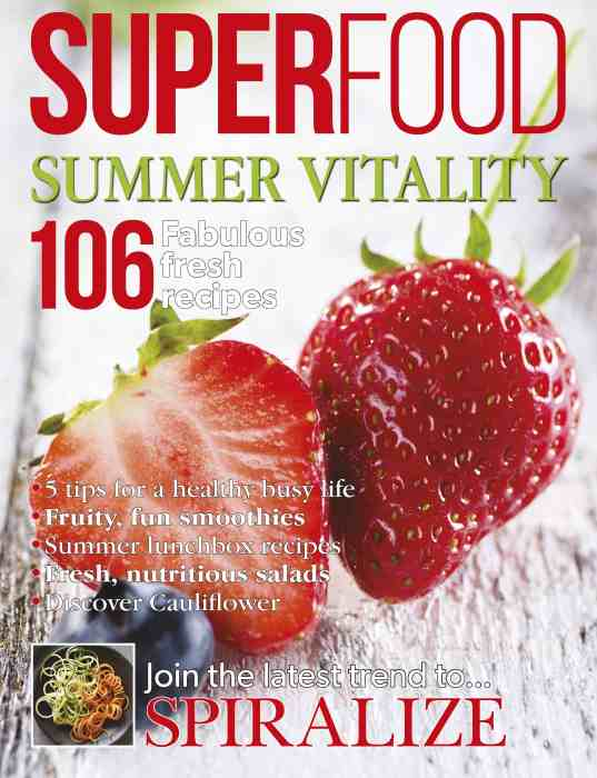 Superfood magazine front cover