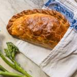 Tenderstem and Cornish Blue Cheese Pasty