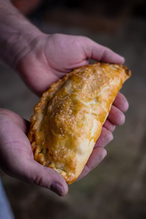 Cheese & Chive Cornish Pasty
