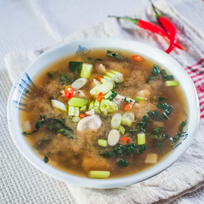 Cloudy Chicken Detox Broth