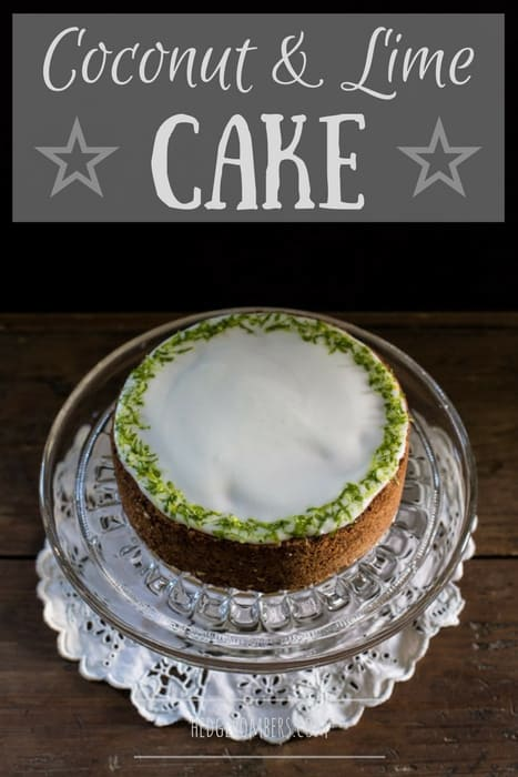 Coconut and Lime Cake
