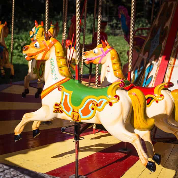 Festival merry go round
