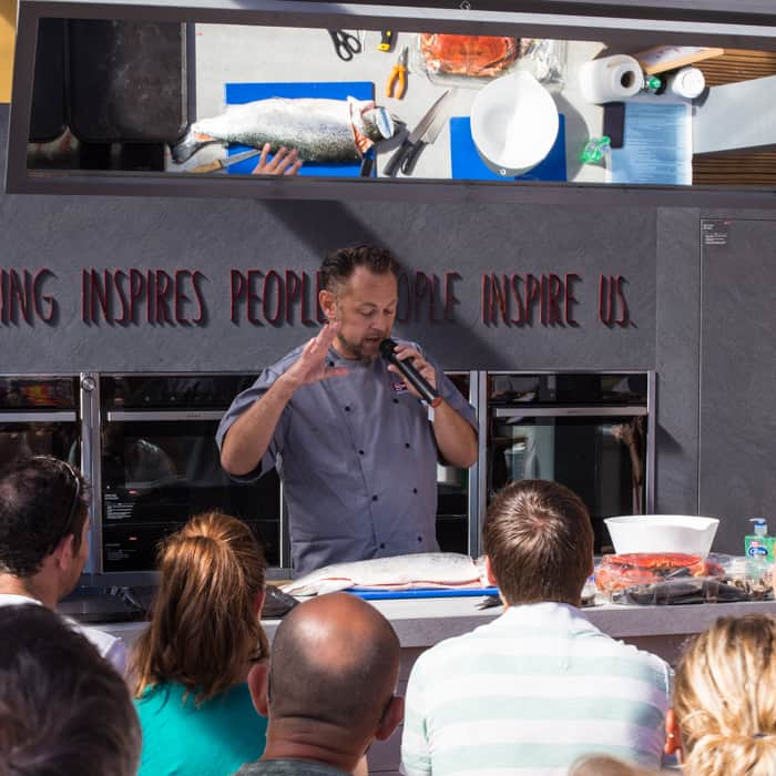 Food Masterclasses at The Big Feastival 2017