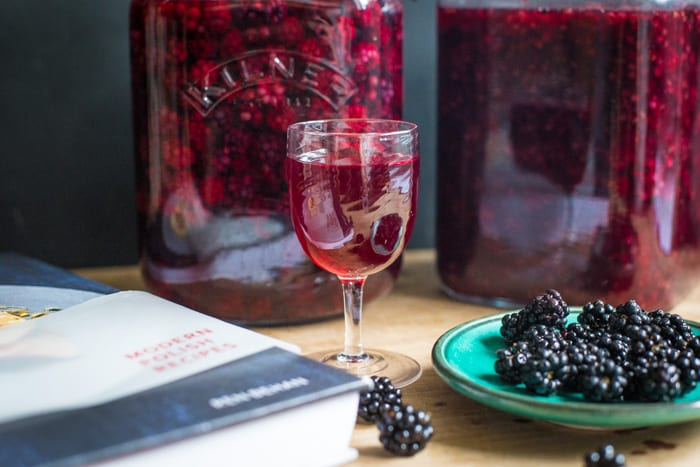 Blackberry Flavour Vodka