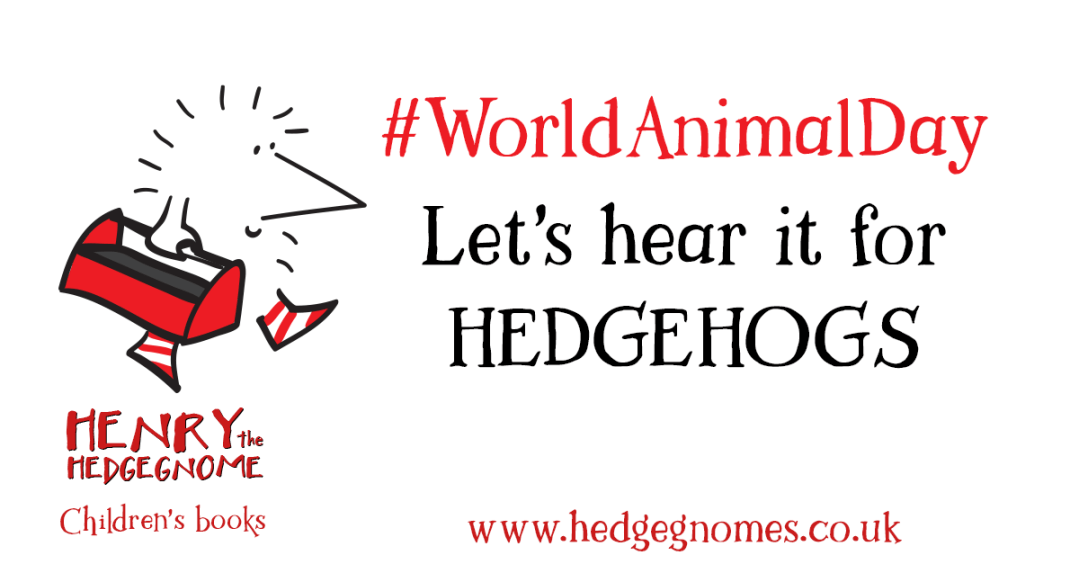 Children's books | Henry the Hedgegnome | World Animal Day