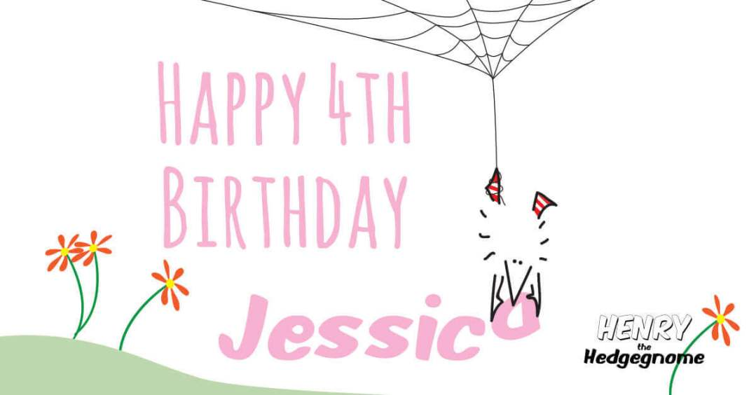Children's books | Henry the Hedgegnome | Jessica 4th birthday