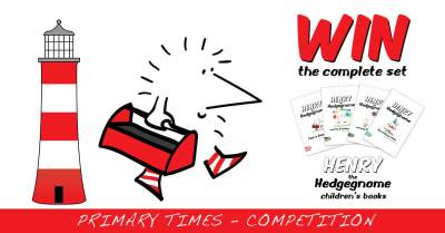 Children's books   Henry the Hedgegnome   Primary Times competition