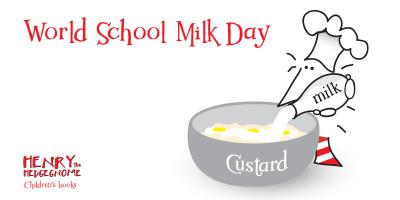 Children's books | Henry the Hedgegnome | World school milk day