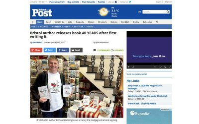 Bristol Post discovers Henry.