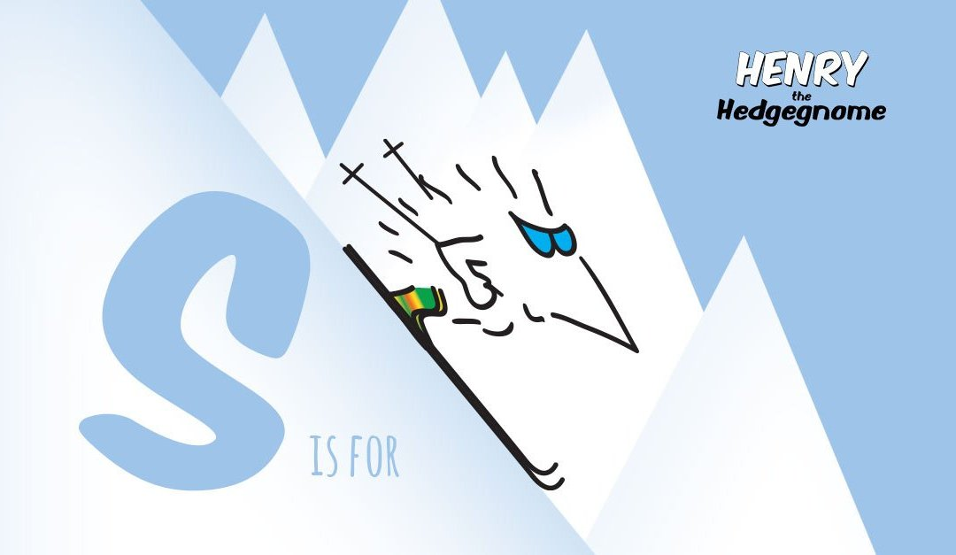 S is for Skiing