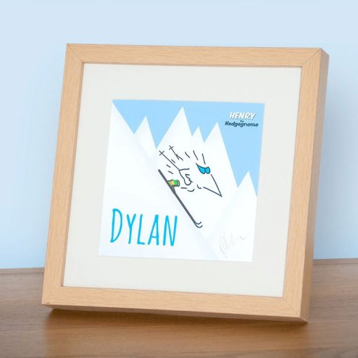 Personalised signed framed prints