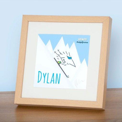 Personalised signed framed prints