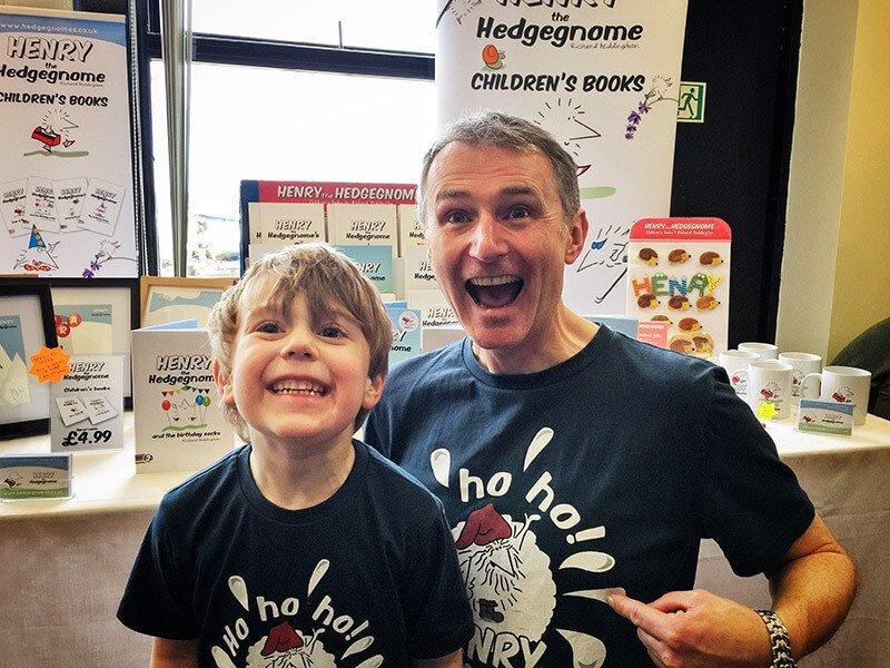 Children's books | Henry the Hedgegnome | Super fan Jack