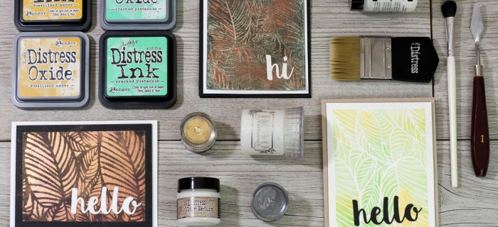 3 New Ways to Stencil with CraftTangles & HNDMD