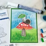 Can you be-leaf it? A copic coloring tutorial.