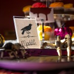 Eerie Halloween Candy Bar and Table Settings